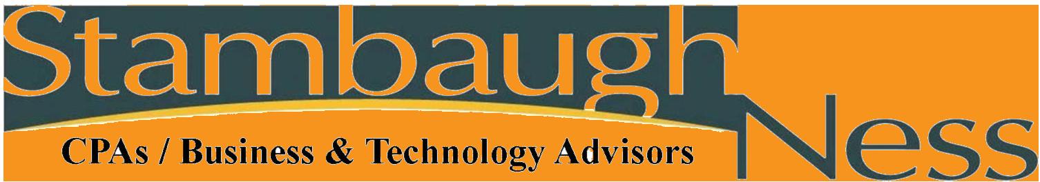Stambaugh Ness CPAs & Business Technology Advisors