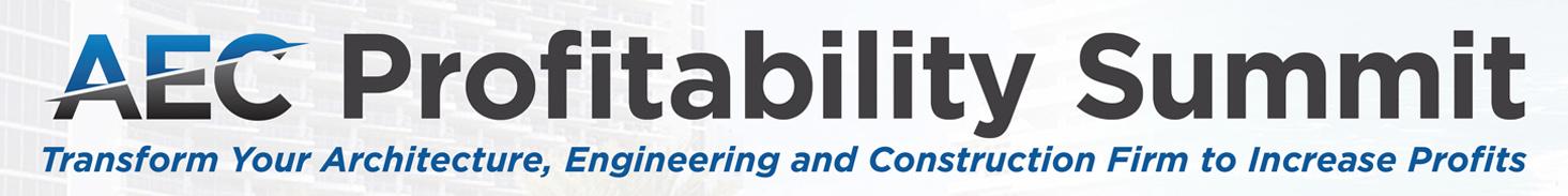 AEC Profitability Summit Banner