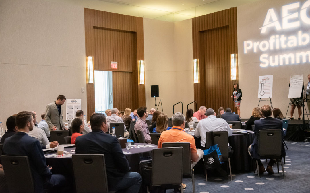 2019 AEC Profitability Summit Attendees Find a Potential $39 Million in Lost Profits