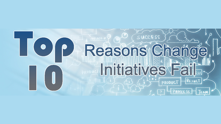 Top Ten Reasons Change Initiatives Fail